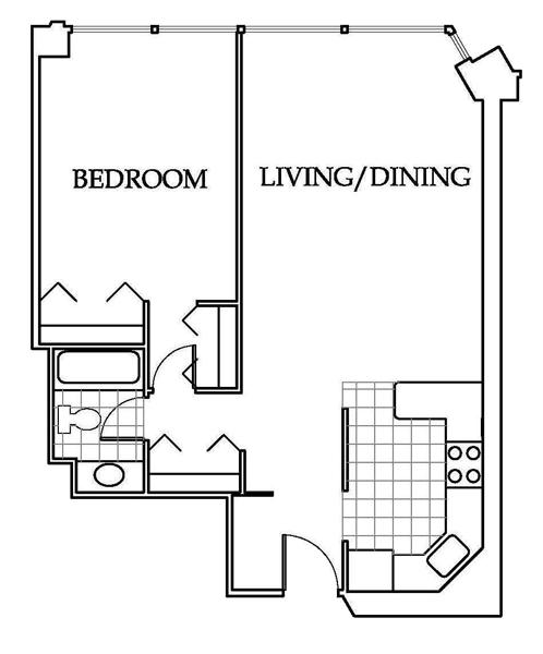 Millennium Park Apartments: Millennium Park Plaza